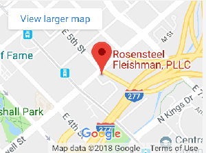 Map of Rosensteel Fleishman Charlotte, NC Office Location