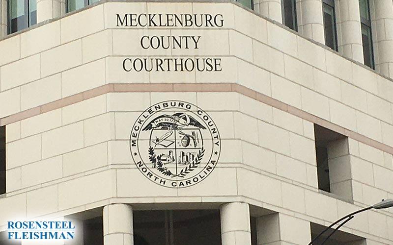 Mecklenburg County North Carolina Courthouse
